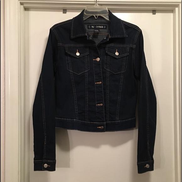 1b9d2221403 AC-3998 Jackets & Coats   Jean Jacket Ac3998 Dark Blue Size L   Poshmark